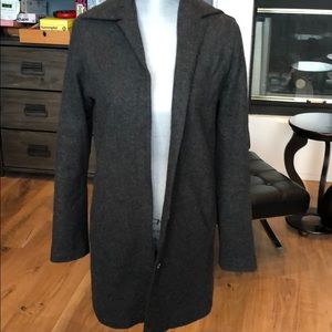Banana Republic Collared Coat with Buttons